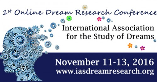 1st IASD Online Dream Research Conference logo