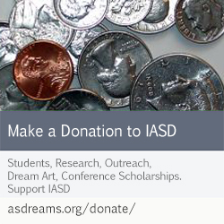 Support IASD! Students, Research, Outreach, Dream Art, Conferences, Scholarships!