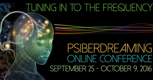 15th Annual Online Psiberdreaming Conference logo